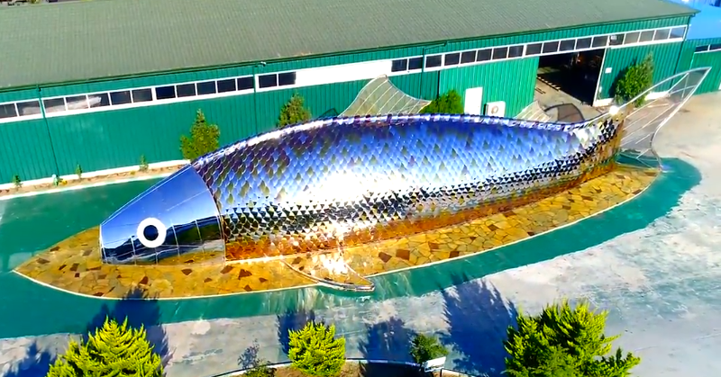 Foreign Firm to Build Giant Fish-shaped Building in Fujairah 2