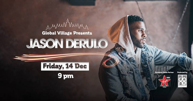 Jason Derulo Live in Dubai Global Village on Dec. 14 b