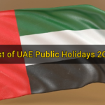 List of UAE Public Holidays 2019