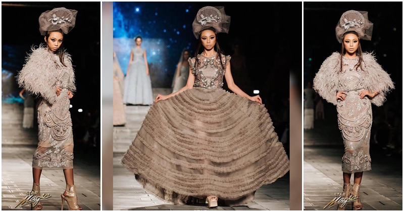 Maymay Entrata First Filipina to Walk the Runway at Arab Fashion Week