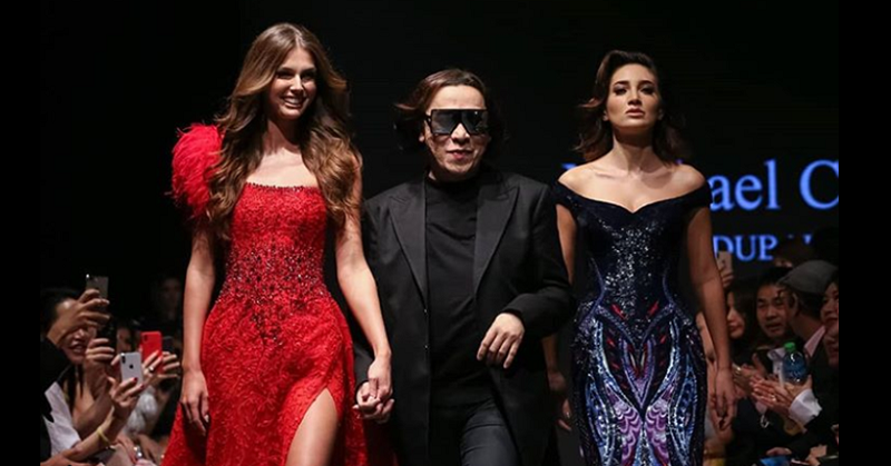 Pinoy Designer Michael Cinco Closes Arab Fashion Week 3