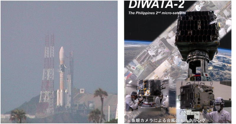 [WATCH] Pinoy-made Diwata-2B Flies into Orbit along with the KhalifaSat
