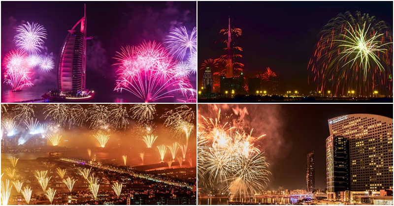 Best Places to Watch the Fireworks on New Year's Eve 2019
