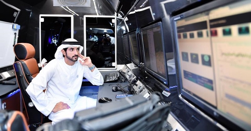 Crown Prince Hamdan Inspects Dubai's Sky Pods 1