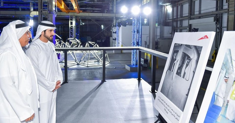 Crown Prince Hamdan Inspects Dubai's Sky Pods 3