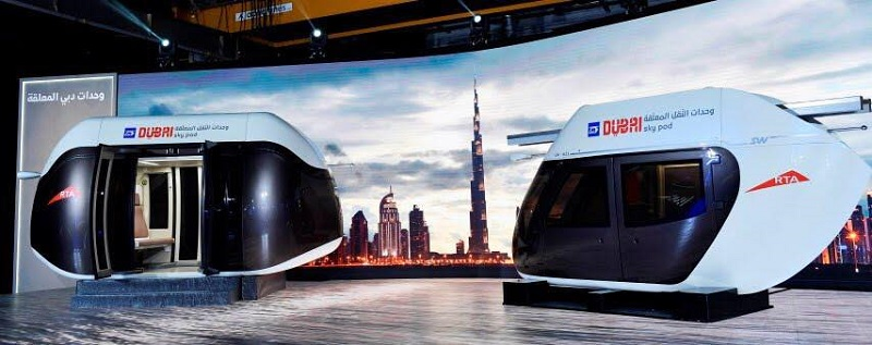 Crown Prince Hamdan Inspects Dubai's Sky Pods 4
