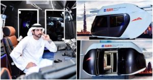 Crown Prince Hamdan Inspects Dubai's Sky Pods 5