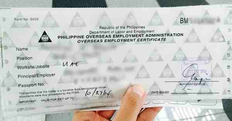 How to Apply for an OEC in Dubai | Dubai OFW