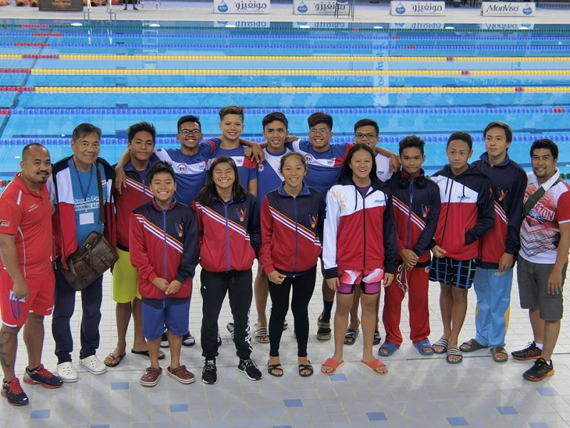 Pinoy Swimmers Win 27 Golds at Dubai Championships