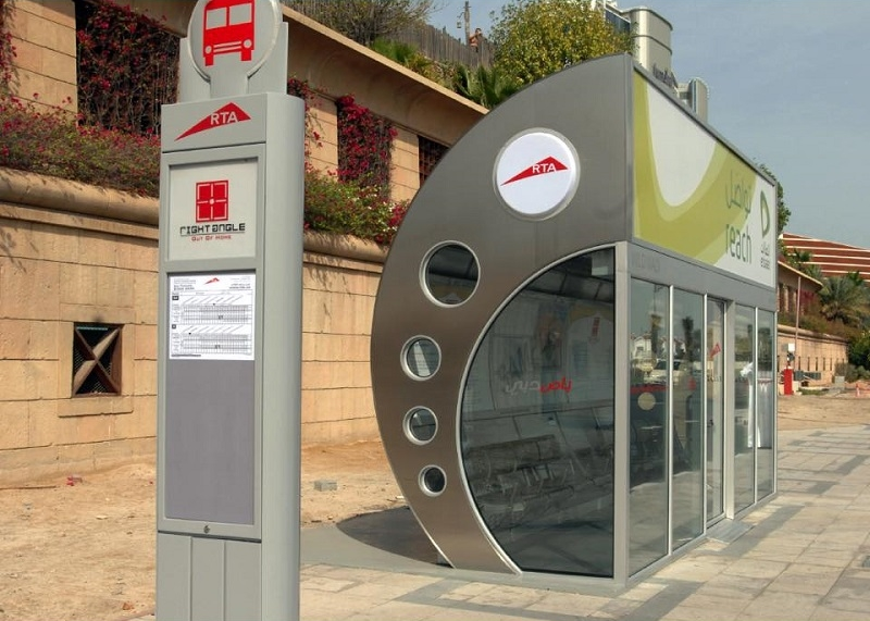 RTA Builds 58 Air-conditioned Bus Shelters Pilots Solar-powered Shelters 2