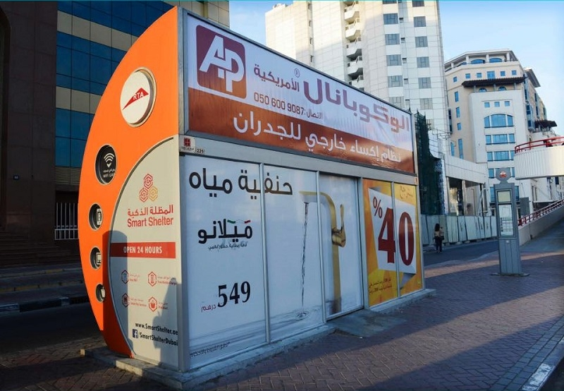 RTA Builds 58 Air-conditioned Bus Shelters Pilots Solar-powered Shelters 4