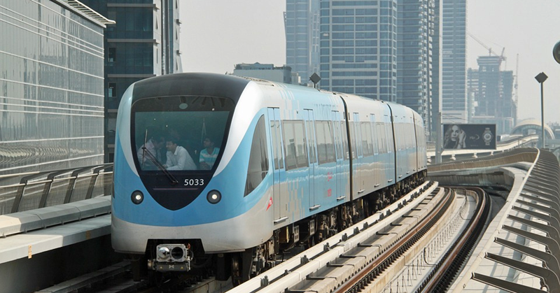 Dubai Metro to Offer Whole-day Service on New Year