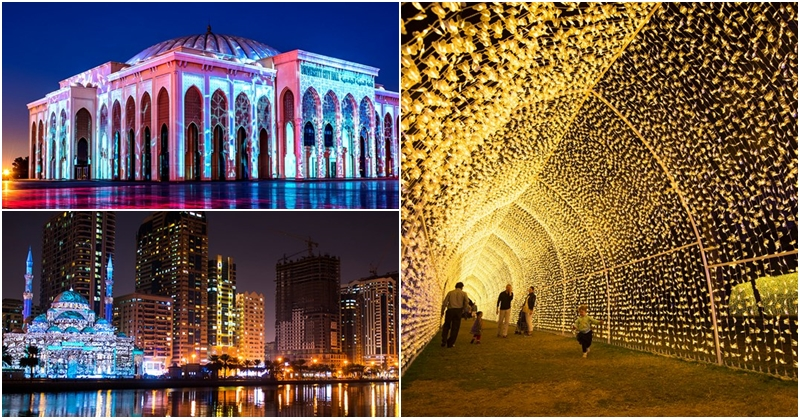 Catch FREE Shows at Sharjah Light Festival from Feb. 6 to 16 10 f