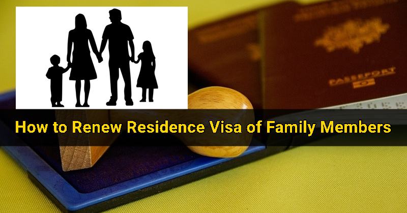 How to renew family visa