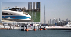 Screenshot of video posted by @RTA_Dubai on Twitter