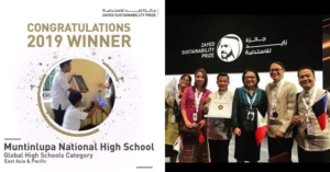 Philippine High School Wins Zayed Sustainability Prize in Abu Dhabi 1