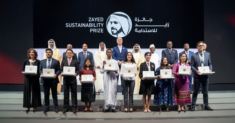 Philippine high schools wins zayed sustainability prize
