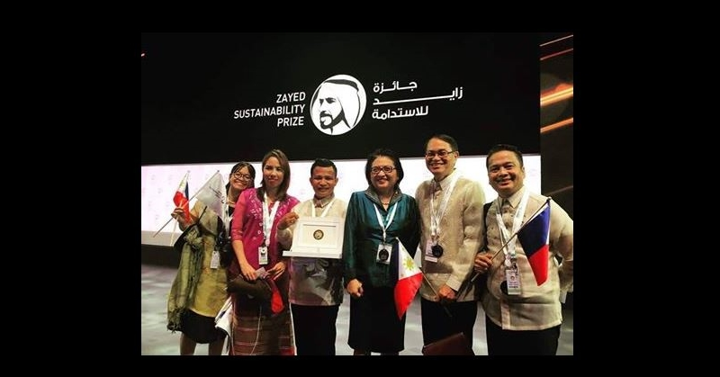 Philippine High School Wins Zayed Sustainability Prize in Abu Dhabi 4