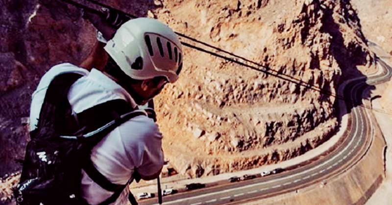 World's Longest Zipline in UAE Set to Reopen after Completing Maintenance
