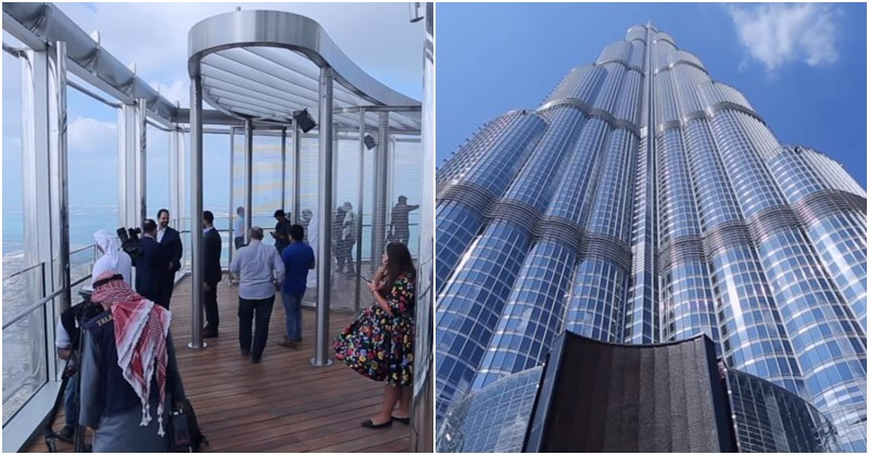 Burj Khalifa Opens World's Highest Lounge a