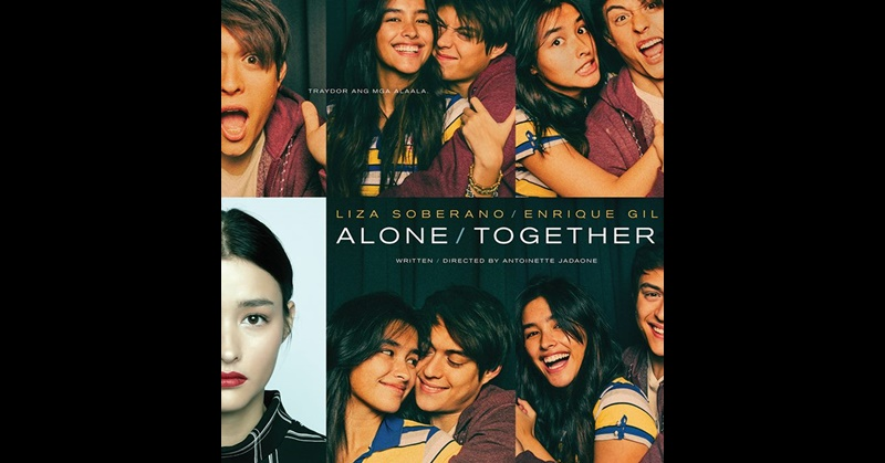 LizQuen Celebrity Tandem in Dubai for Screening of Alone Together 6