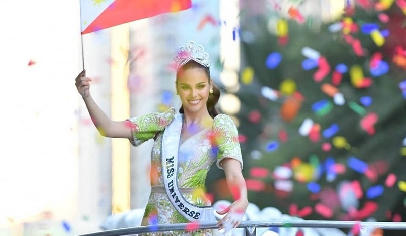 PHOTOS Philippines' Grand Homecoming Parade for Miss Universe Catriona Gray 1