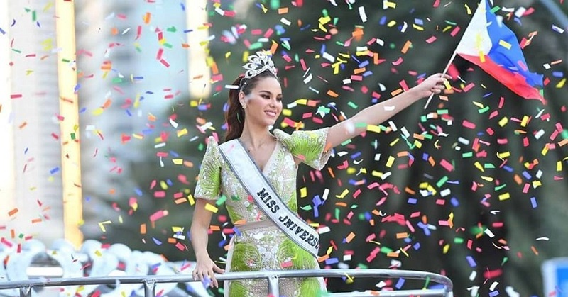 PHOTOS Philippines' Grand Homecoming Parade for Miss Universe Catriona Gray 3
