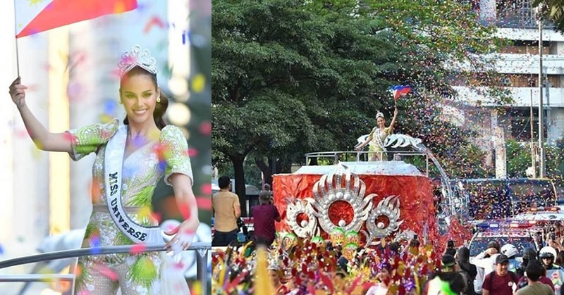 PHOTOS Philippines' Grand Homecoming Parade for Miss Universe Catriona Gray 4
