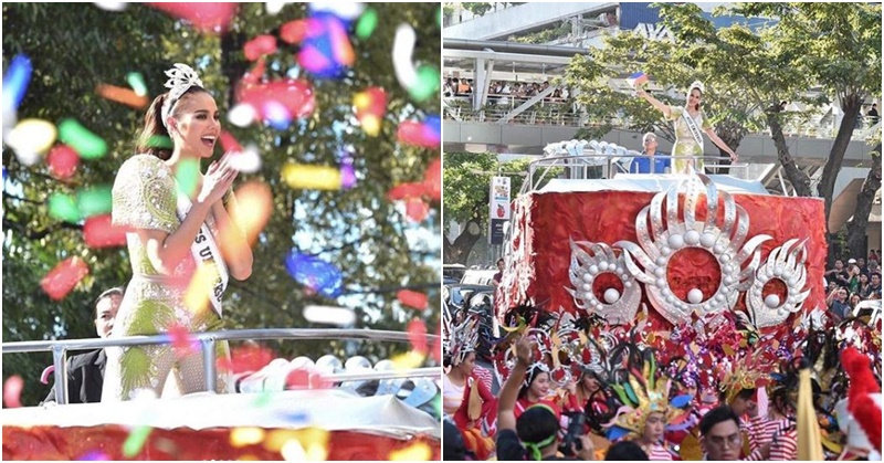 PHOTOS Philippines' Grand Homecoming Parade for Miss Universe Catriona Gray d