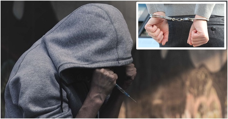 Pinoy Drug Addict Bites Cop's Hand to Resist Arrest 4
