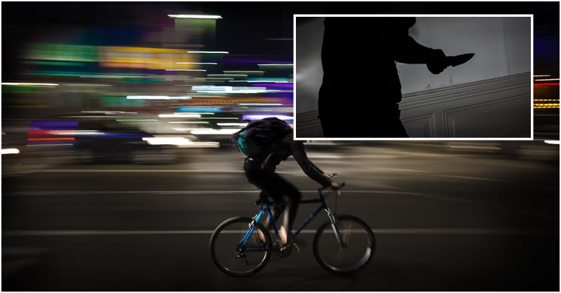 Man Assaults Cyclist for Hitting on His Filipina Girlfriend