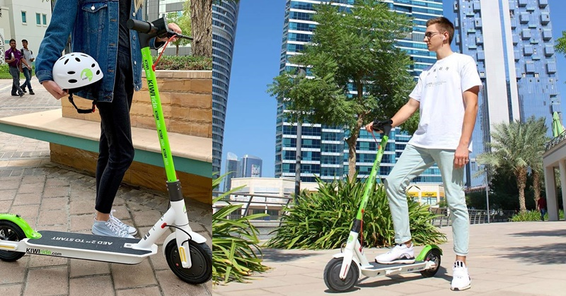 RTA Halts Electric Scooter Rentals in Dubai b