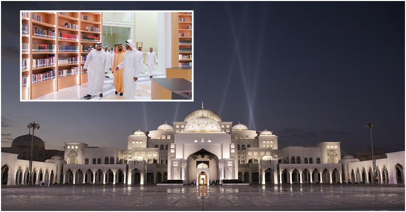 Check out over 50,000 Titles about UAE at Qasr Al Watan Palace Library