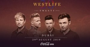 Catch Westlife Live at Coca-Cola Arena this August
