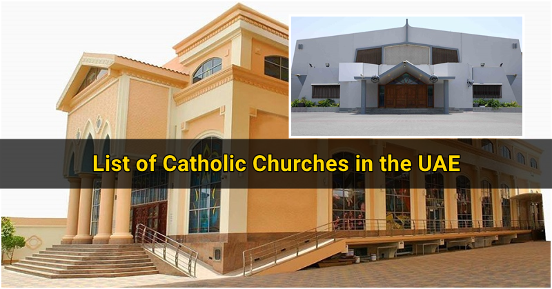 List of Catholic Churches in UAE