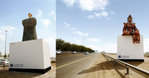 PHOTOS Giant 3D Sculptures Along E11 Highway