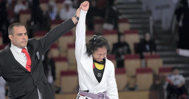 Pinay Athlete is Jiu Jitsu Champion in Abu Dhabi
