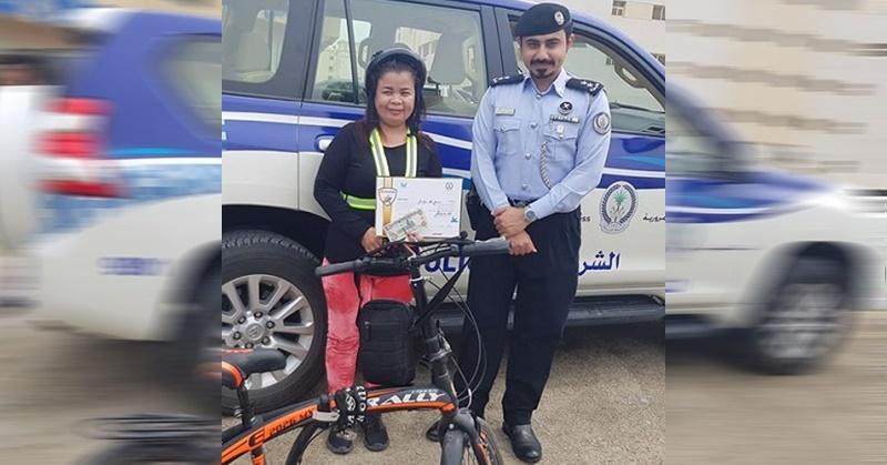 Pinay Cyclist Among Winners of Responsible Road Users Award