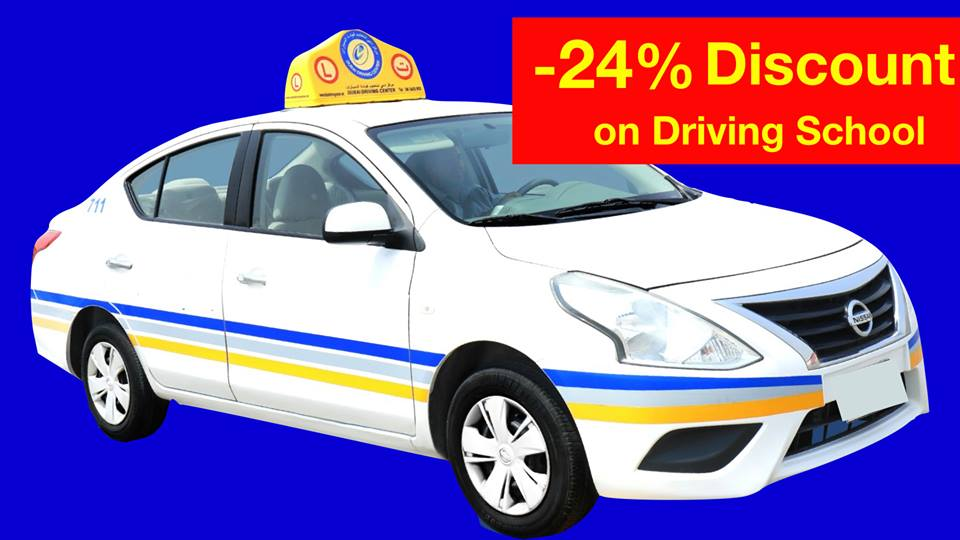 dubai driving school discount