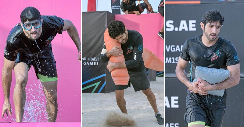 IN PHOTOS: HH Sheikh Hamdan Participates in the Gov Games
