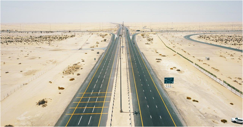Al Faya – Seeh Shuaib E75 Road Rehabilitation Project Completed in Abu Dhabi