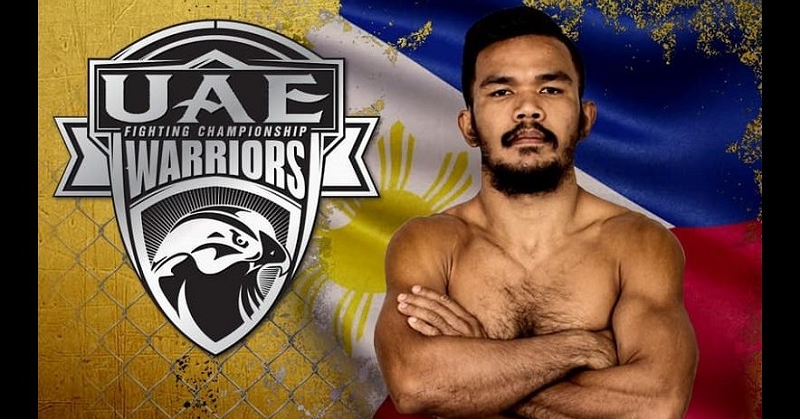 Filipino MMA Fighter Wins the Gold in UAE