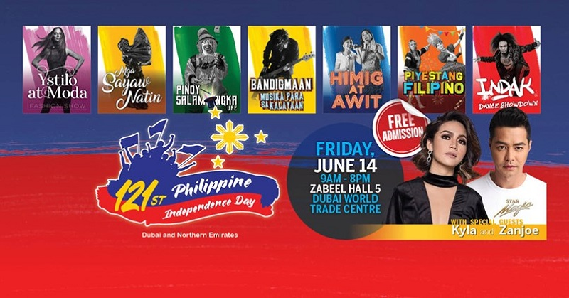 Philippine Independence Day Celebrations at DWTC on June 14