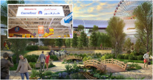 World's First Nature-inspired Mall Opens Carrefour Hypermarket