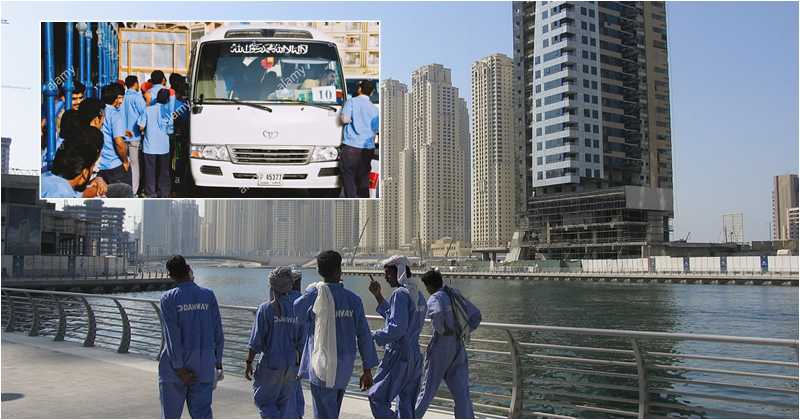 Revamped Labour Buses to Offer Relief to Workers in UAE