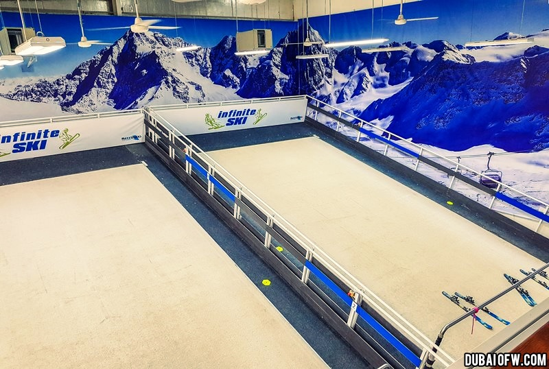 maxxtracks slopes infinite ski dubai