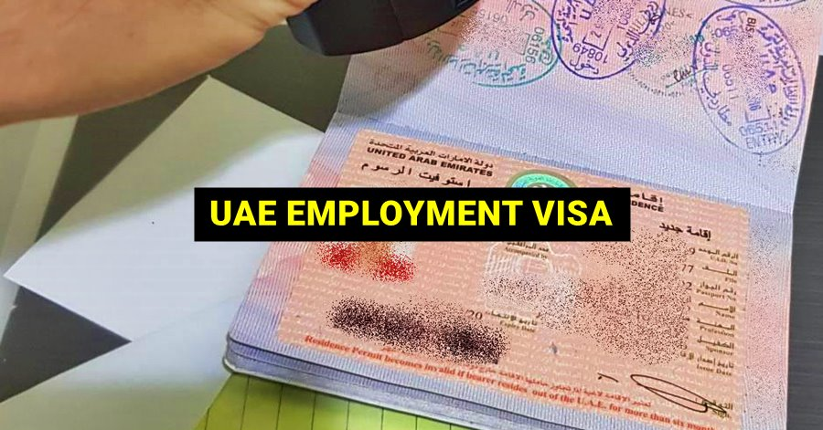uae employment visa process