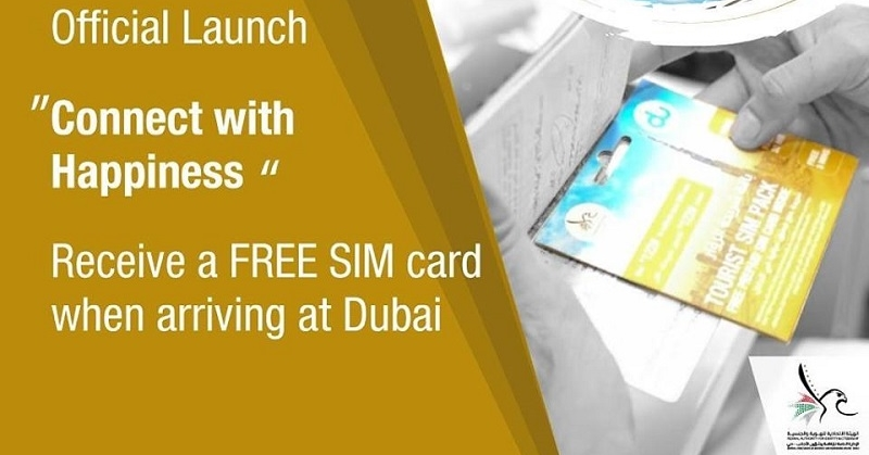 Dubai to Offer Free SIM Cards to All Tourists