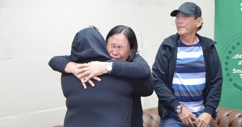 Filipina Inmate Reunites with Parents After 14 Years