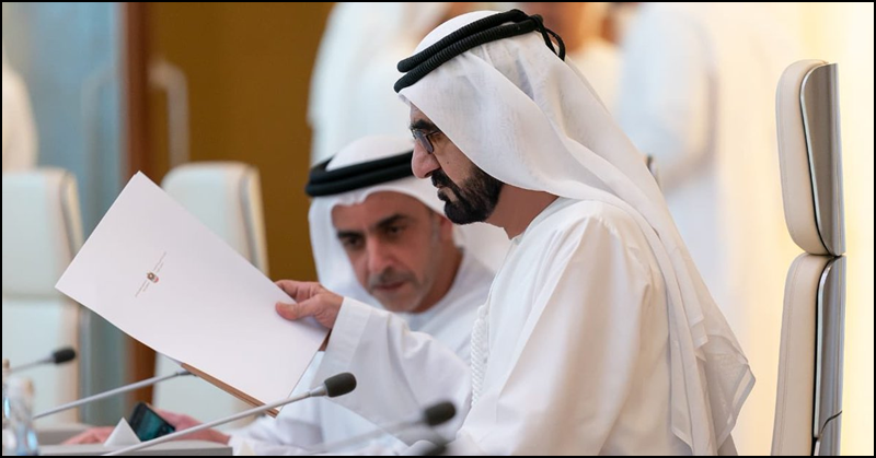 Sheikh Mohammed Approves Law to Improve People's Quality of Life in UAE